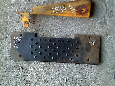 International Cub 154 Tractor Ih Right Foot Rest Step Panel Mounting Peg Bracket