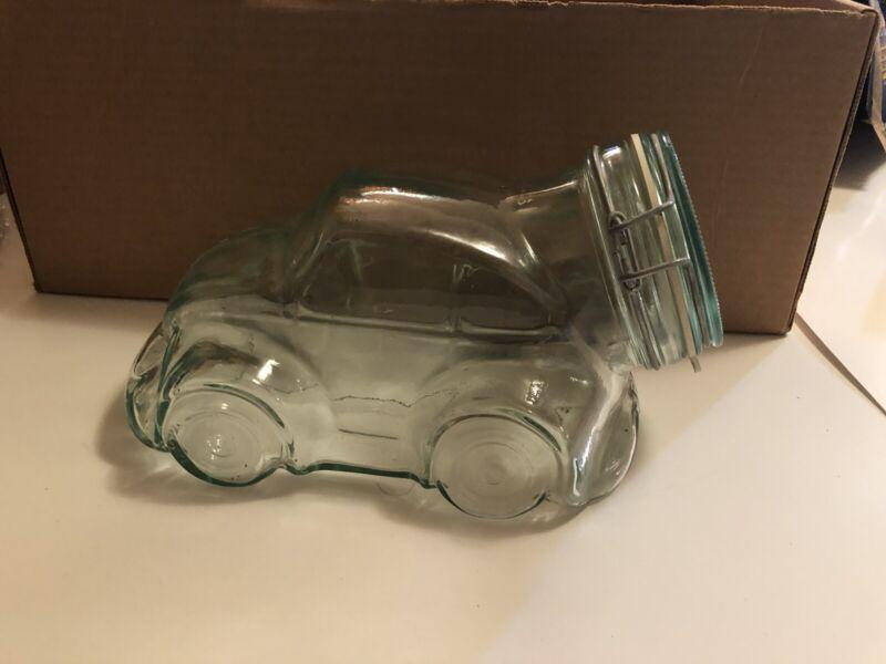 volkswagen beetle  bug clear glass cookie car VW