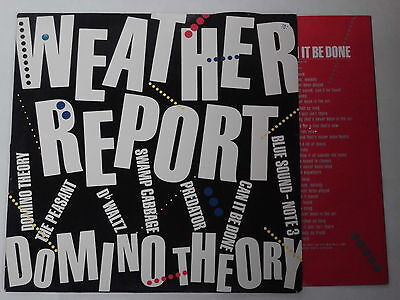WEATHER REPORT -Domino Theory- LP