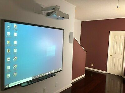 Interactive Smart Board Sb680 And Smart U100 Short Throw Projector With Clickers