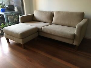 IKEA  Karlstad  sofa and stool Carlton Melbourne City Preview