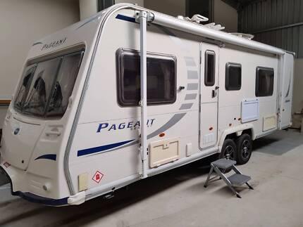Bailey Pageant Limousin Caravan