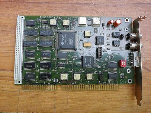 TEXAS INSTRUMENTS Model TMS320C5x EVM ISA Digital Signal Processor Card
