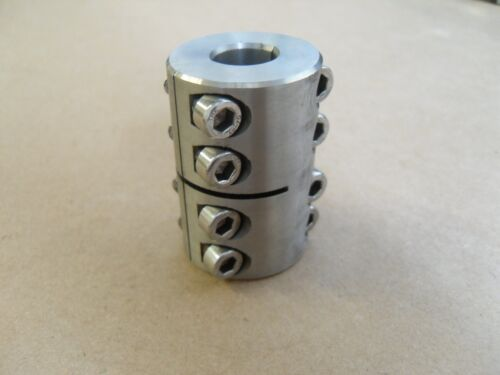 CLIMAX 2MISCC-14-14-S STAINLESS STEEL CLAMPING COUPLING