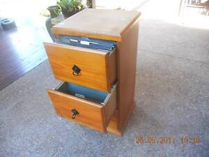 WOOD FILING CABINET Soldiers Point Port Stephens Area Preview