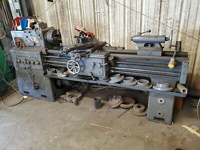 Meuser Lathe Machine 6ft