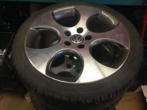 Vw gti 18 inch rims and tires