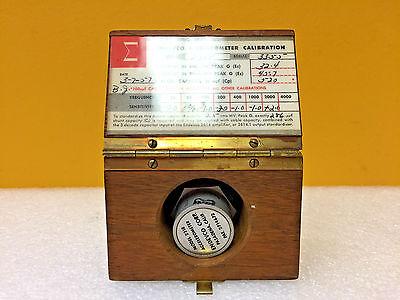 Endevco 2218 520 Uuf Capacity Accelerometer Case Calibration Chart.