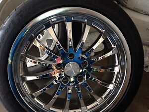 4 18 inches mags and tires for Lexus or Toyota
