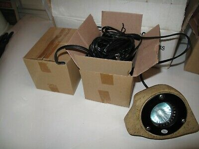NEW.  Set of Two High Intensity Rock Lights.  Low Voltage Transformer -