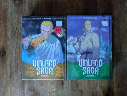 Manga - Vinland Saga Book 4 and 5