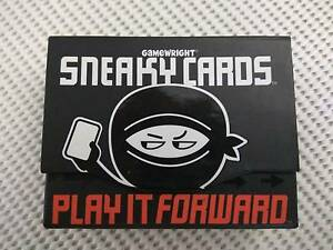 Sneaky Cards Game: Play It Forward! Haymarket Inner Sydney Preview