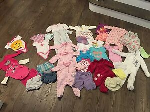 Girls 3-6m lot