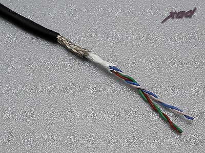 CARDAS TONE ARM CABLE 33awg X4 SHIELDED LITZ  PER 300mm