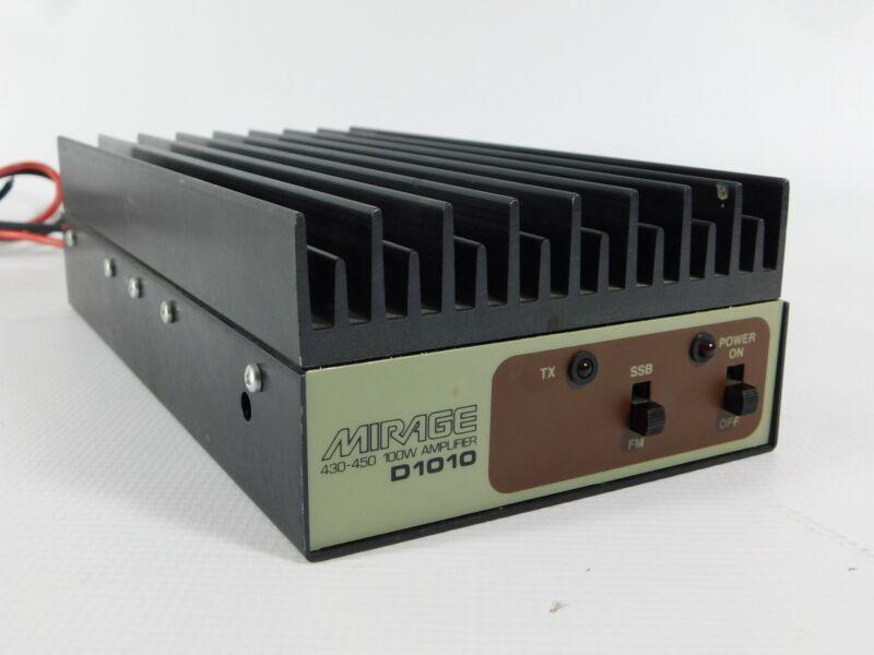 Mirage D1010 430-450MHz SSB FM 100W Ham Radio Amplifier (works well)