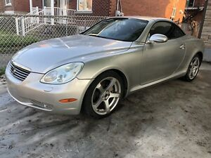 Rare Sport Car Hard Top Convertible Lexus SC430