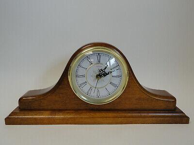 Vintage Sunbeam Quartz Wood Frame Mantle Table Clock I3-1 Frame Table Clock