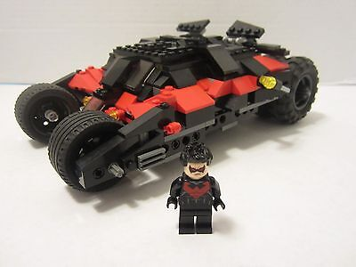 "LEGO Batman -  ""Nightwing Tumbler"" and Nightwing minifig from # 76011 / # 7888"