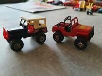 Matchbox Toys Jeep 4x4 1981 Made in Magau 2mal Niedersachsen - Seevetal Vorschau