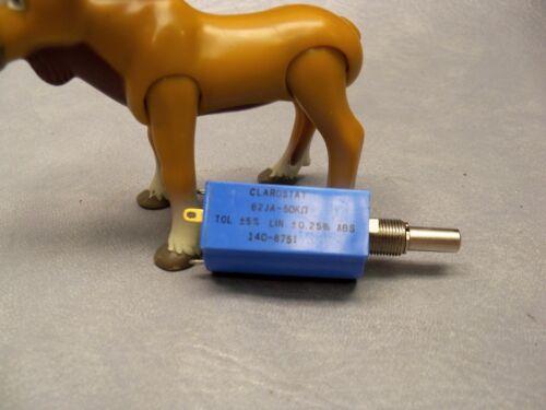 Clarostat Wirewound Precision Potentiometer 62JA-50K