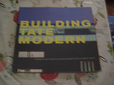 BUILDING THE TATE MODERN ROWAN MOORE RAYMUND RYAN TATE BOOK