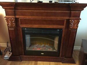 Beautiful Electric Wood Fireplace