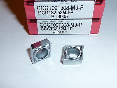 Ccgt 32.52 Mj-p Rt9005 Mitsubishi 10 Inserts Factory Pack