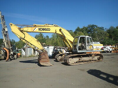 Kobelco Sk300 Lc Iv Hydraulic Excavator Runs Nice Erops 48 Bkt