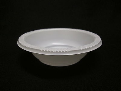 250 Disposable Small BOWLS ~ ~  party ware deep Plastic light weight quality new - Small Clear Plastic Disposable Bowls