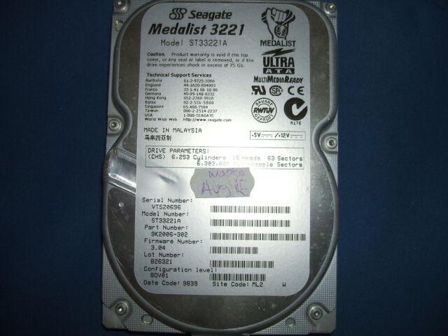 Seagate ST33221A 3.2GB