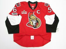 OTTAWA SENATORS HOME ANY NAME NUMBER 100TH ANNIVERSARY REEBOK EDGE 2.0 JERSEY