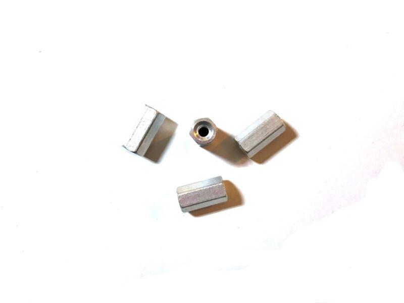 M3 x 12mm Aluminum Threaded Standoffs (4 pcs)