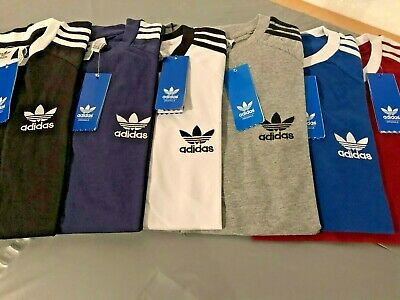 adidas california tee CREW-NECK-SHORT-SLEEVE-t-shirt-S-M-L-XL- 2 XL FOR MEN.