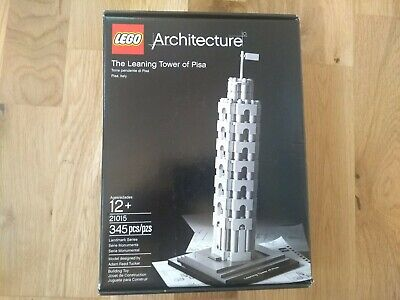 LEGO Architecture The Leaning Tower of Pisa (21015) - 100% Complete Boxed