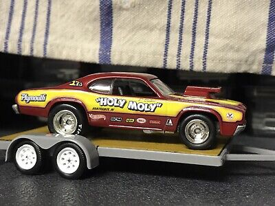 Hot Wheels Drag Strip Demons/Vintage Racing Holy Moly Duster MINT HTF Real Rider