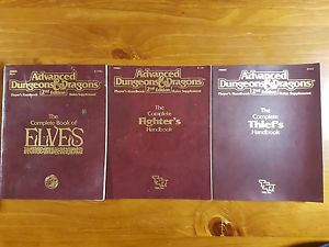 2nd Edition Advanced Dungeons and Dragons Handbooks Huntingdale Gosnells Area Preview