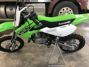 2018 Kawasaki KX65 dirt bike