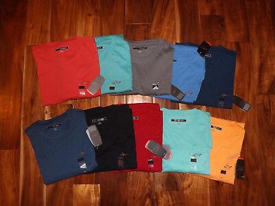 Nwt Mens Greg Norman Pocket Tee Shirt Size M L Xl Xxl Xxxl Various Colors