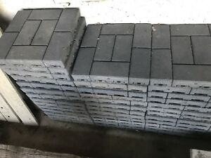 Composite patio brick