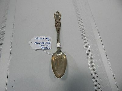 Very Rare! 1892c.Leonard MFG. Co. Manufatures and Liberal Arts Building Spoon