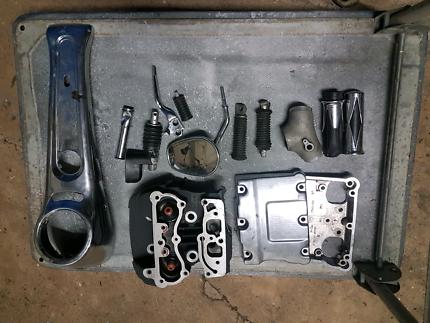 Harley parts (damaged)