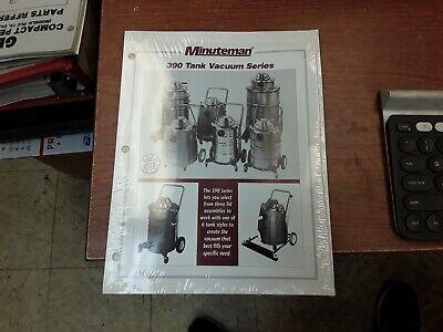 Minuteman 390 Tank Vacuum Series Manual