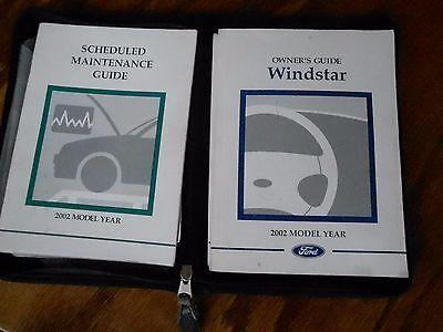 02 Windstar Owners Operators Manual