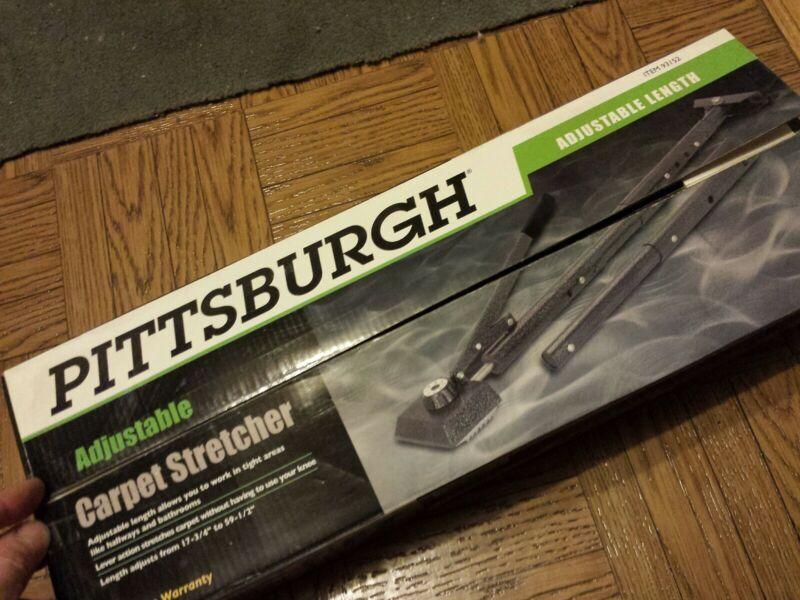 ADJUSTABLE CARPET STRETCHER Pittsburgh 93162 INSTALLER LEVER TOOLS