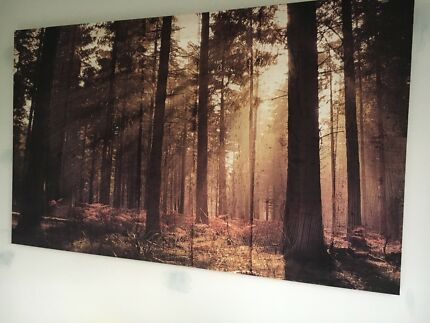 Extra large stretched canvas print