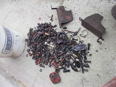 Case 830 Diesel Tractor Bolts Nuts Parts Pieces