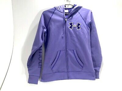 Under Armour Women's Full Zip Purple Hoodie Size Medium