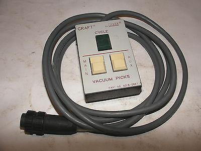Pace Soldering Remote Vacuum Picks Switch Pace Craft 2525e 15e