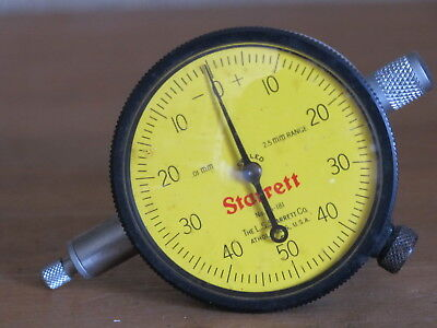 Starrett Depth Gauge 25-181 Range 2.5mm