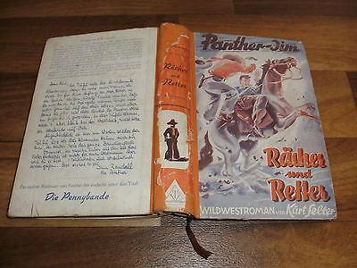 Kurt Selter -- PANTHER JIM  / Wild West-Roman-Leihbuch 1. Auflage 1952